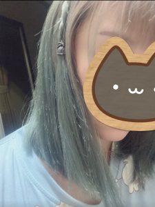 藍色頭髮褪色
